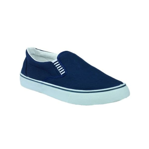 Yachtmaster Yacht Gusset Gusset Plimsolls Navy